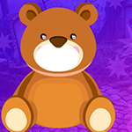 G4K Find My Teddy Bear Toy Game