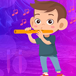 G4K Flute Musician Escape…