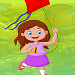 G4K Flying Kite Girl Escape Game