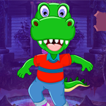 G4K Funny Crocodile Rescue Game