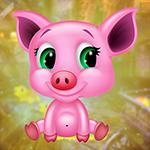 G4K Funny Baby Pig Escape