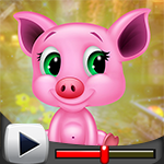 G4K Funny Baby Pig Escape…