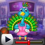 G4K Funny Peacock Escape …
