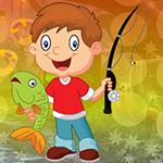G4K Gleeful Fishing Boy E…