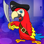 G4K Gleeful Pirate Parrot…