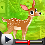 G4K Gorgeous Deer Escape …
