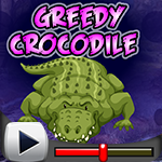 G4K Greedy Crocodile Escape Game Walkthrough