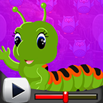 G4K Green Worm Escape Gam…