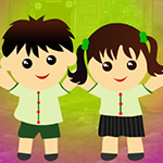 G4K Happy Siblings Escape Game