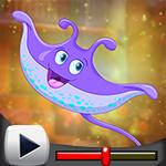 G4K Joyful Stingray Escape Game Walkthrough