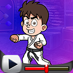 G4K Karate Black Belt Winner Escape Game Walkthrough