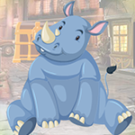 G4K Lazy Rhinoceros Escap…