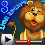 G4K Lion Escape 3 Game Walkthrough