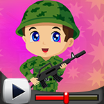 G4K Little Soldier Escape Game Walkthrough