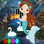 G4K Longing Mermaid Escap…