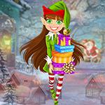 G4K Merry Elf Girl Escape Game