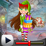 G4K Merry Elf Girl Escape…