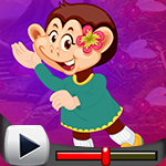 G4K Monkey Girl Escape Fr…