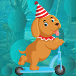 G4K Party Hat Dog Escape …