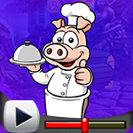 G4K Pig Chef Escape Game …