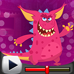 G4K Pink Creature Escape …