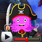 G4K Pirate Octopus Rescue Game Walkthrough