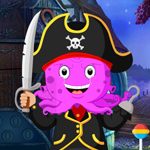 G4K Pirate Octopus Rescue Game