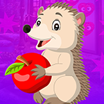 G4K Porcupine Escape With Apple Game