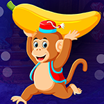 G4K Running Banana Monkey…