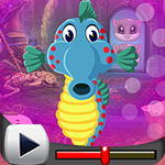 G4K Seahorse Escape Game Walkthrough