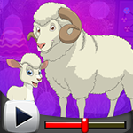 G4K Sheep And Lamb Escape…