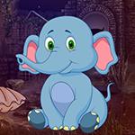 G4K Sitting Elephant Escape Game