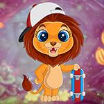 G4K Skate Lion Escape Gam…