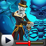 G4K Skeleton King Escape Game Walkthrough