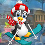 G4K Ski Penguin Escape Ga…
