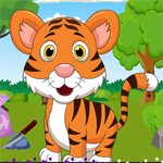 G4K Smart Tiger Cub Rescue Game