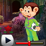 G4K Soccer Monkey Escape Game Walkthrough