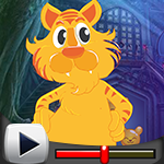 G4K Standing Cartoon Cheetah Escape Game Walkthrough
