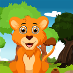 G4K Starve Lion Rescue Game