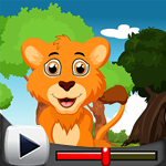 G4K Starve Lion Rescue Game Walkthrough