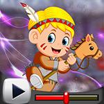 G4K Stick Horse Boy Escap…