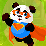 Superman Panda Escape