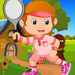 G4K Tennis Girl Rescue Game