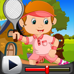 G4K Tennis Girl Rescue Game Walkthrough