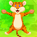 Very Cheerful Tiger Escape