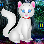 G4K White Kitten Escape G…