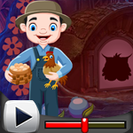 G4K Chicken Farming Man Rescue Game Walkthrough