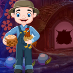G4K Chicken Farming Man Rescue Game
