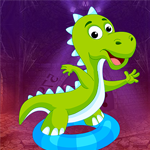 G4k Danger Dinosaur Rescue Game