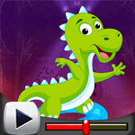 G4k Danger Dinosaur Rescue Game Walkthrough